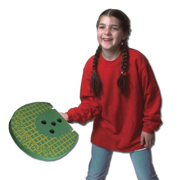 Hand Racquet on a child